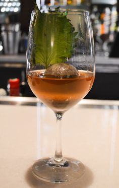 Nothing is ever the same in #Vegas, including the Bobby Burns cocktail. Try our version, The Mother Club, made with Olorosso Sherry, Amaro Nonino, sesame oil and more. #VegasDrinks