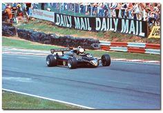 Elio De Angelis JPS Lotus Ford 82 F1. 1982 British GP Brands Hatch