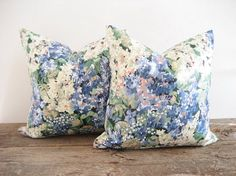 Pair Pillow Covers Penelope by Cyrus Clark by theCottageWorkroom, $48.00