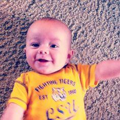 Happy #LSU Tiger cub.
