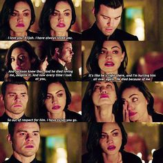 [ TO 3x15 ] I think I put the words on the wrong caps , but it'll be ok. This scene is still heart wrenching !!!!!!!  #theoriginals #hayleymarshall #elijahmikaelson