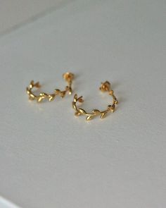 Estilosas pendientes oro triángulo geometría aretes de plata statement rotgold