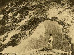 Tatry, pieczary w Dolinie Kościeliskiej - Górale i Tatry na starych fotografiach