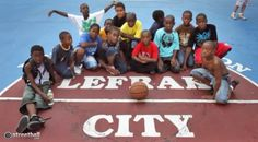 Streetball is Family - Lefrak Streetball and basketball court in New York City.