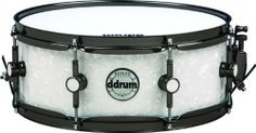 ddrum Reflex Series Snare Drum 5.5x14 White Marine Pearl with Black Nickel Hardware by ddrum. $199.99. The Reflex line is the fastest growing line in ddrum's history. Over a dozen artists from multiple genres have chosen the Reflex as their drum set of choice, and now the Reflex snare is available on its own, at a price too good to pass up. Its alder shell allows for a deeper, fatter voice when tuned down, and offers cutting, crisp high-end crack when tuned up. A...