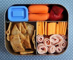 4th Grader Turkey Cheese LunchBots Bento