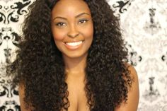 love this hairstyle -- kinky curly