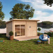 Sauna Design, Outdoor Furniture Sets, Outdoor Decor, Animal House, Saunas, Tiny House, Shed, Backyard, Exterior
