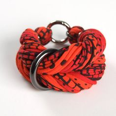 chunky fabric bracelet