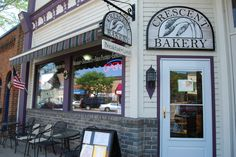 Crescent Bakery in Frankfort, Michigan - the best baked goods in Northern Michigan!