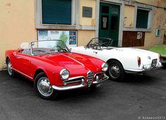 Classic Car News Pics And Videos From Around The World Alfa Romeo Giulietta Spider, Alfa Romeo Spider, Alfa Romeo Giulia, My Dream Car, Dream Cars, Mercedes 300e, Convertible, Alfa Alfa, Small Luxury Cars