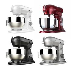 Buy Shamrock Stand Mixer Professional 700W Motor + 6 Quart Bowl + 10 Speed Control at online store