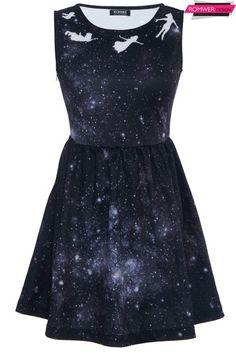 ROMWE | Angel Print Galaxy Dress The Latest Street Fashion - more → http://tiffanyfashionstylist.blogspot.com/2013/02/romwe-angel-print-galaxy-dress-latest.html