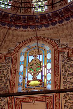 Window in the Blue Mosque, Istanbul. Join Rock Your Life's Soul Journey Turkey - 9 - 20 Sep 2015. For more info + booking - https://www.eventbrite.co.nz/e/soul-journey-turkey-tickets-14397554473