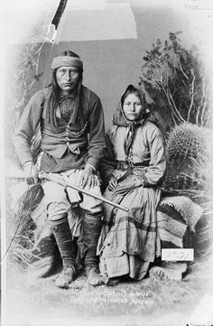 Son of Cochise and his wife