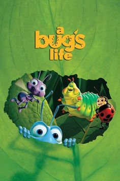 A Bug's Life is a 1998 American computer-animated comedy film produced by Pixar Animation Studios for Walt Disney Pictures (en. Disney Films, Disney Movie Club, Disney Movie Posters, Old Disney Movies, Classic Disney Movies, Disney Xd, Film Pixar, Pixar Animated Movies, Animated Movie Posters