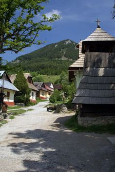 A typical Slovak village!