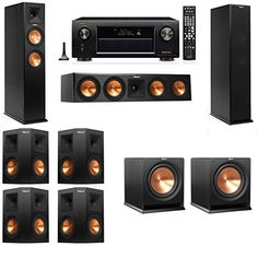 Klipsch Tower Speakers -- You can get additional details at the image link. (This is an affiliate link and I receive a commission for the sales) Room Speakers, Klipsch Speakers, Home Audio Speakers, Tower Speakers, Best Speakers, Hifi Audio, Home Cinema Systems, Home Theater Speaker System, Surround Sound Speakers