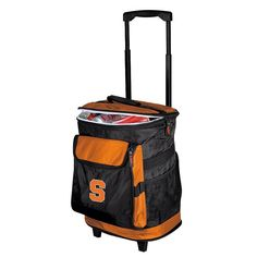Syracuse Orange Rolling Cooler, Multicolor