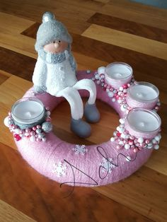 Christmas 2017, Christmas Projects, Winter Christmas, Christmas Cookies, Tablescapes, Tea Lights, Paper Quilling, Diy And Crafts, Candle Holders