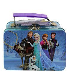Another great find on #zulily! Frozen Tin Lunch Box & 63-Piece Puzzle #zulilyfinds