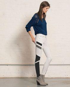 rag & bone / JEAN — Halifax Legging - Winter White, $286
