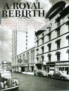 Great feature on the past, present and future of Royal Connaught in this month's Hamtilton Magazing. http://hamiltonmagazine.com/