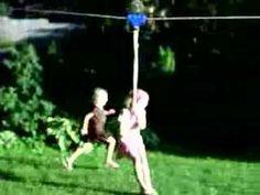 zip line for the backyard!!!