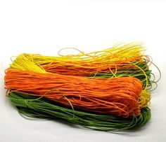 Mixed Waxed Cotton Cord for braided bracelet or ....