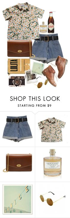 """Untitled #9308"" by nikka-phillips ❤ liked on Polyvore featuring Cacharel, Mulberry, Library of Flowers, Polaroid and Madewell"