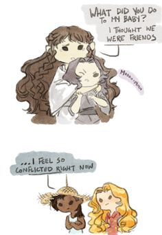 Aredhel  protecting her son (again) by alyruko