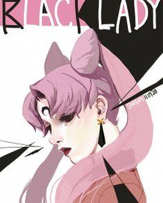 Sailor Moon / Black Lady