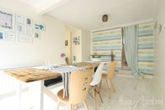 Vicky's Home: Casa playa shabby chic y nórdico / Beach House, shabby chic and Nordic
