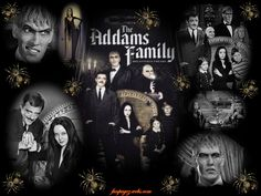 the monsters tv show cast | The Addams Family in the 60s