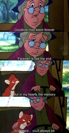 The Fox and the Hound. My all time favorite disney movie. I cry ever time!