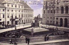 1919 , Pomnik Mikołaja Kopernika w Warszawie . Pomnik Mikołaja Kopernika w Warszawie – pomnik dłuta duńskiego rzeźbiarza Bertela Thorvaldsena, wykonany w 1822.