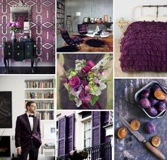 Mood Board Monday: Plum