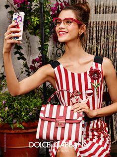 Dolce & Gabbana Spring/Summer 2016 Eyewear Campaign