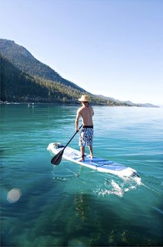 A Guide to Stand Up Paddling in Tahoe and the Bay Area | 7x7