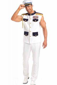 scintillating sea captain mens costumessailor costumesadult