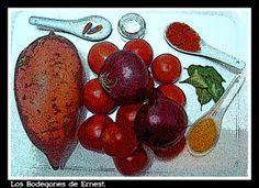 Bodegón- Batatas con salsa brava