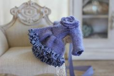 Buttons periwinkle cashmere | Abi Monroe | Flickr