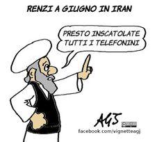 Ricordate le statue nude inscatolate a Roma? Quando Renzi a giugno andrà in Iran gli ricambieranno la cortesia?