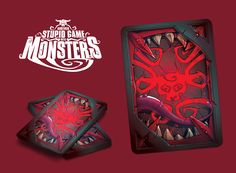 Another Stupid Game with Monsters - tabletop cardgame. New popular project on Kickstarter #cardgame #tabletopgame #monsters #graphic #game #Kickstarter