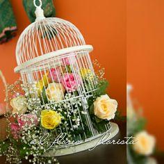 Gaiola decorada