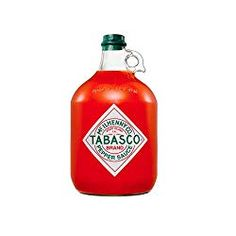 Stock up on your favorite TABASCO Chipotle Pepper Sauce in a gallon-size glass jug! Chipotle Sauce, Tabasco Hot Sauce, Tabasco Pepper, Red Pepper Sauce, Chipotle Pepper, Bbq, Glass Jug, Best Gifts For Men, Barbecue