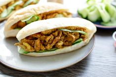 Kip kerrie broodje | Kookmutsjes Tacos, Mexican, Ethnic Recipes, Food, Seeds, Meals, Mexicans