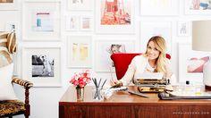 Lauren Conrad's Exclusive Office Makeover