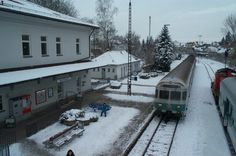 The train station in my home town