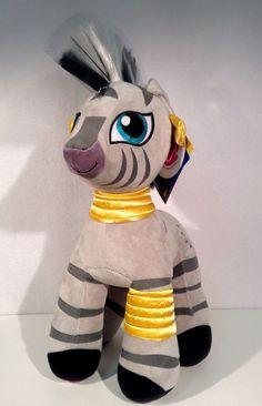 Zebra Zecora Disney Build a Bear My Little Pony Gray Stuffed Plush Ages 3+ #BuildaBear